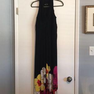 Sleeveless full length Jones New York dress